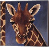 Exotic Giraffe - Mini Fine-Art Print