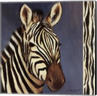 Exotic Zebra - Mini Fine-Art Print