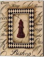 Chess Bishop - Mini Fine-Art Print