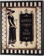 Paris Flea Market - Mini Fine-Art Print