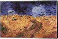 Wheatfield with Crows, c.1890 Fine-Art Print