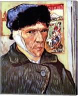 Self-Portrait with Bandaged Ear, c.1889 Fine-Art Print