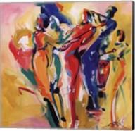 Jazz Explosion I Fine-Art Print