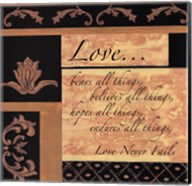 Words To Live By, BlackgoldLove Fine-Art Print