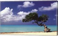 Caribbean Zen Moment Wall Poster