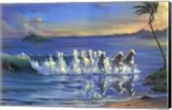 Galloping Waves Fine-Art Print
