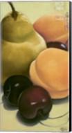 Pear, Apricots & Cherries Fine-Art Print