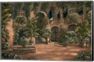 French Quarter Courtyard I Fine-Art Print