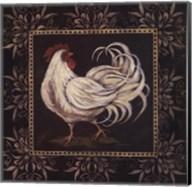 Black & White Rooster II Fine-Art Print