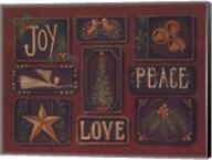 Joy Peace Love Fine-Art Print