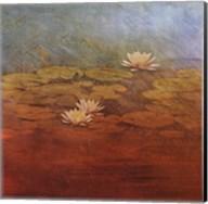 Pond Lilies I Fine-Art Print