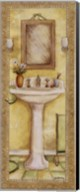 Pedestal and Toothbrush Fine-Art Print