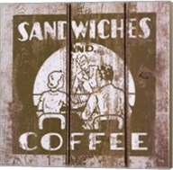 Sandwich and Coffee Fine-Art Print