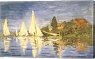 Regatta at Argenteuil Fine-Art Print