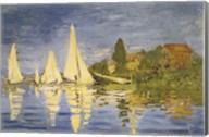 Regatta at Argenteuil Fine-Art Print