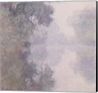 The Seine at Giverny, Morning Mists, 1897 Fine-Art Print