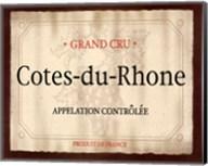 Cote du Rhone Fine-Art Print