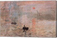 Impression, Sunrise, c.1872 (green) Fine-Art Print