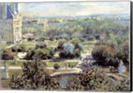 View of Tuileries Gardens Fine-Art Print