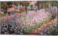The Artist's Garden at Giverny, c.1900 Fine-Art Print