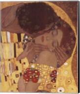 The Kiss, c.1908 (detail) Fine-Art Print