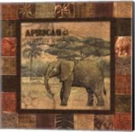 Safari II - mini Fine-Art Print