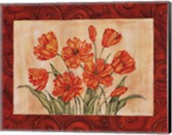 Linen Scroll Tulip Fine-Art Print