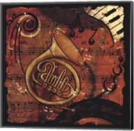 Jazz Music III - mini Fine-Art Print