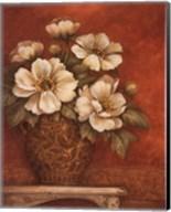 Villa Flora Peonies - mini Fine-Art Print