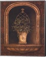 Olive Topiary Niches II - mini Fine-Art Print