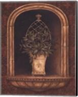 Olive Topiary Niches II - petite Fine-Art Print