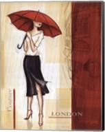 Rain London Fine-Art Print
