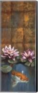Golden Koi I - mini Fine-Art Print
