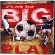 Big Play - Soccer Fine-Art Print