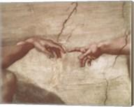 Creation of Adam (hands detail) Fine-Art Print