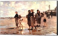 Oyster Gatherers of Cancale Fine-Art Print