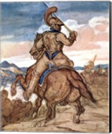 Mounted Officer Fine-Art Print