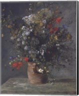 Flowers in a Vase, c. 1866 Fine-Art Print