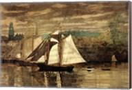 Gloucester Schooners and Sloop Fine-Art Print