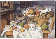 Still Life with Fruit Basket Fine-Art Print