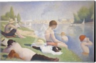 Bathers at Asnieres Fine-Art Print