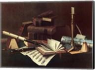 Music and Literature Fine-Art Print