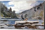 Hudson River Logging Fine-Art Print