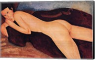 Reclining Nude from the Back, c.1917 Fine-Art Print