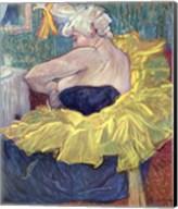 Lady Clown Cha-U-Kao Fine-Art Print