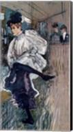 Jane Avril Dancing Fine-Art Print