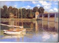 Bridge at Argenteuil Fine-Art Print