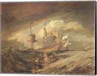 Boats with Anchors Fine-Art Print