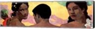 Three Tahitians - Detail Fine-Art Print