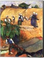 Harvest Scene Fine-Art Print